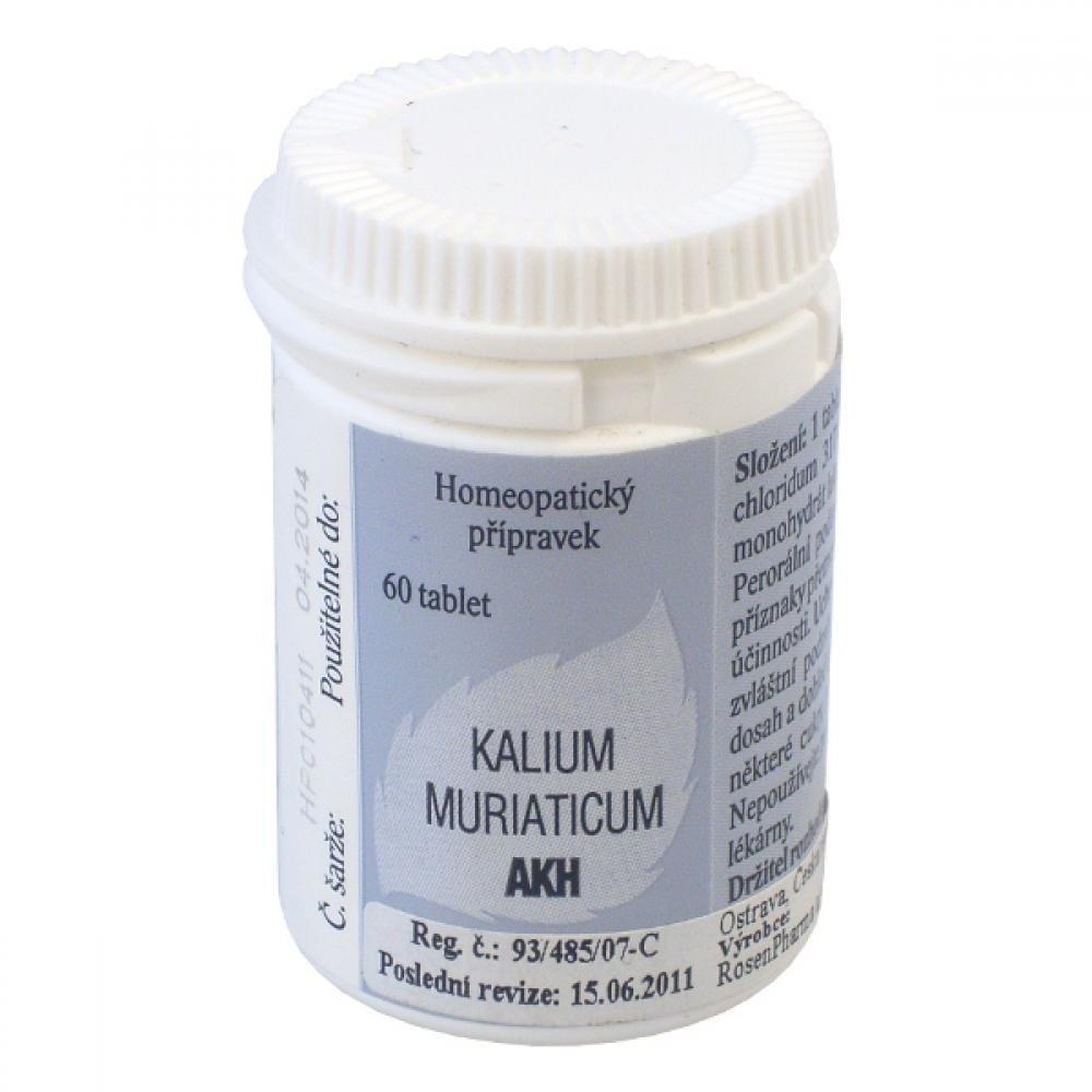 KALIUM MURIATICUM AKH 60 C59-C317-C679 Tablety