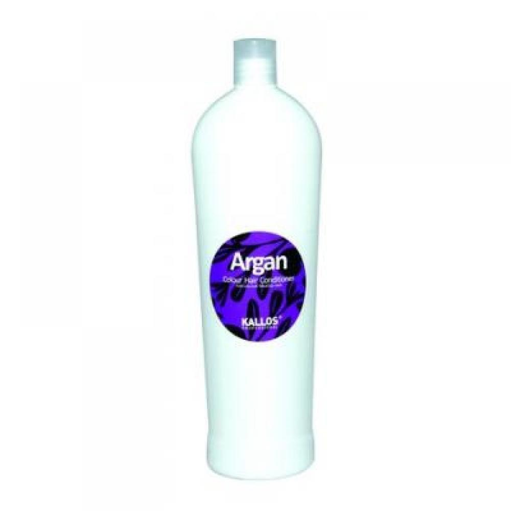 KALLOS Argan kondicionér pro barvené vlasy 1000 ml