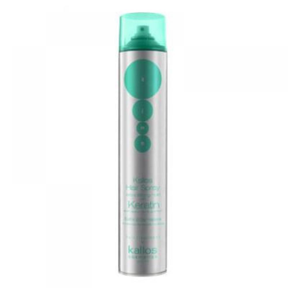 Kallos Hair Spray Extra Strong Hold With Keratin Extra silný lak na vlasy s keratinem 750 ml