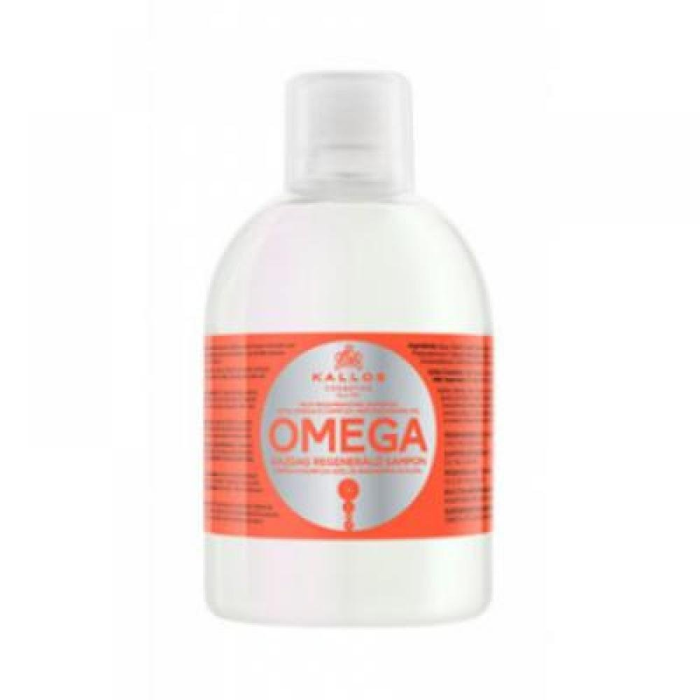 Kallos KJMN šampon s Omega komplexem pro poničené vlasy 1000 ml