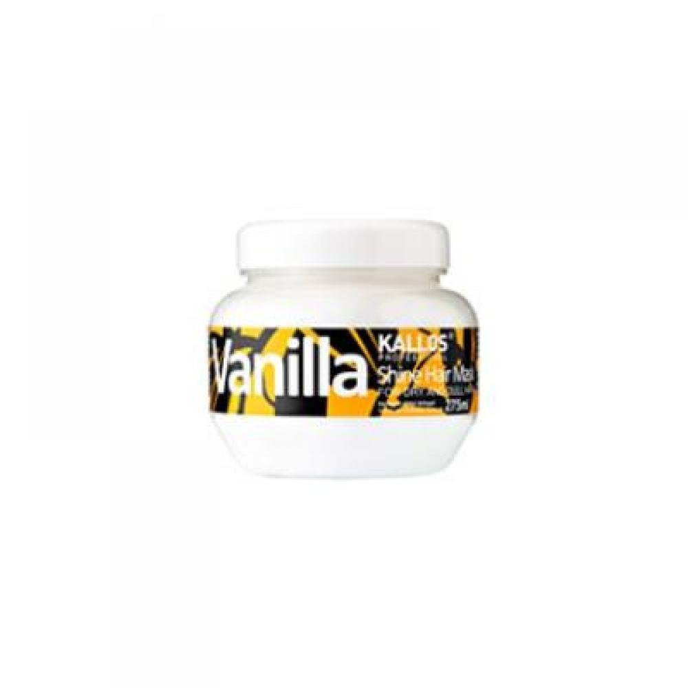 Kallos Vanilla Shine Hair Mask Maska pro oživení suchých vlasů 275 ml