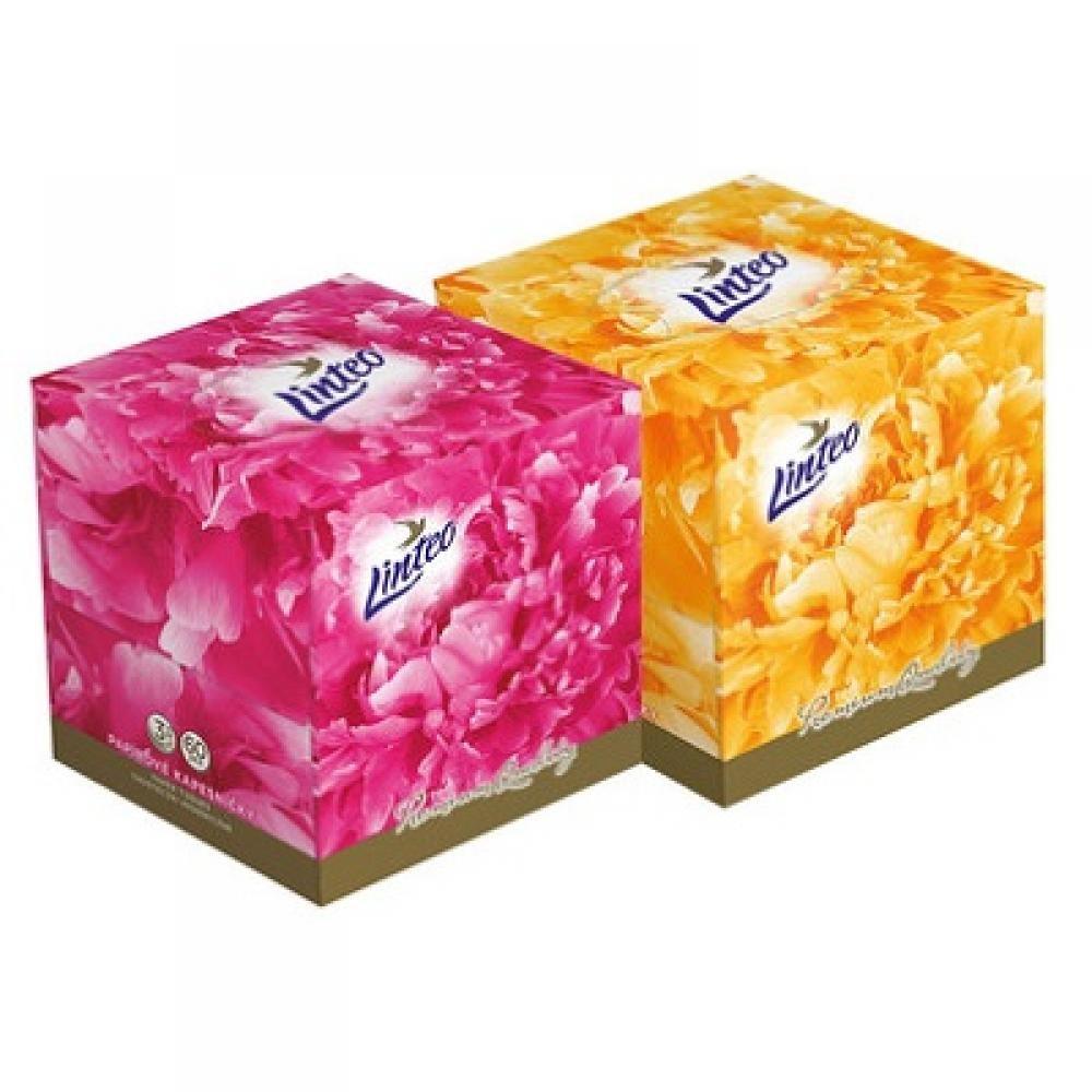 LINTEO Papírové kapesníky Premium BOX 3-vrstvé 60 kusů