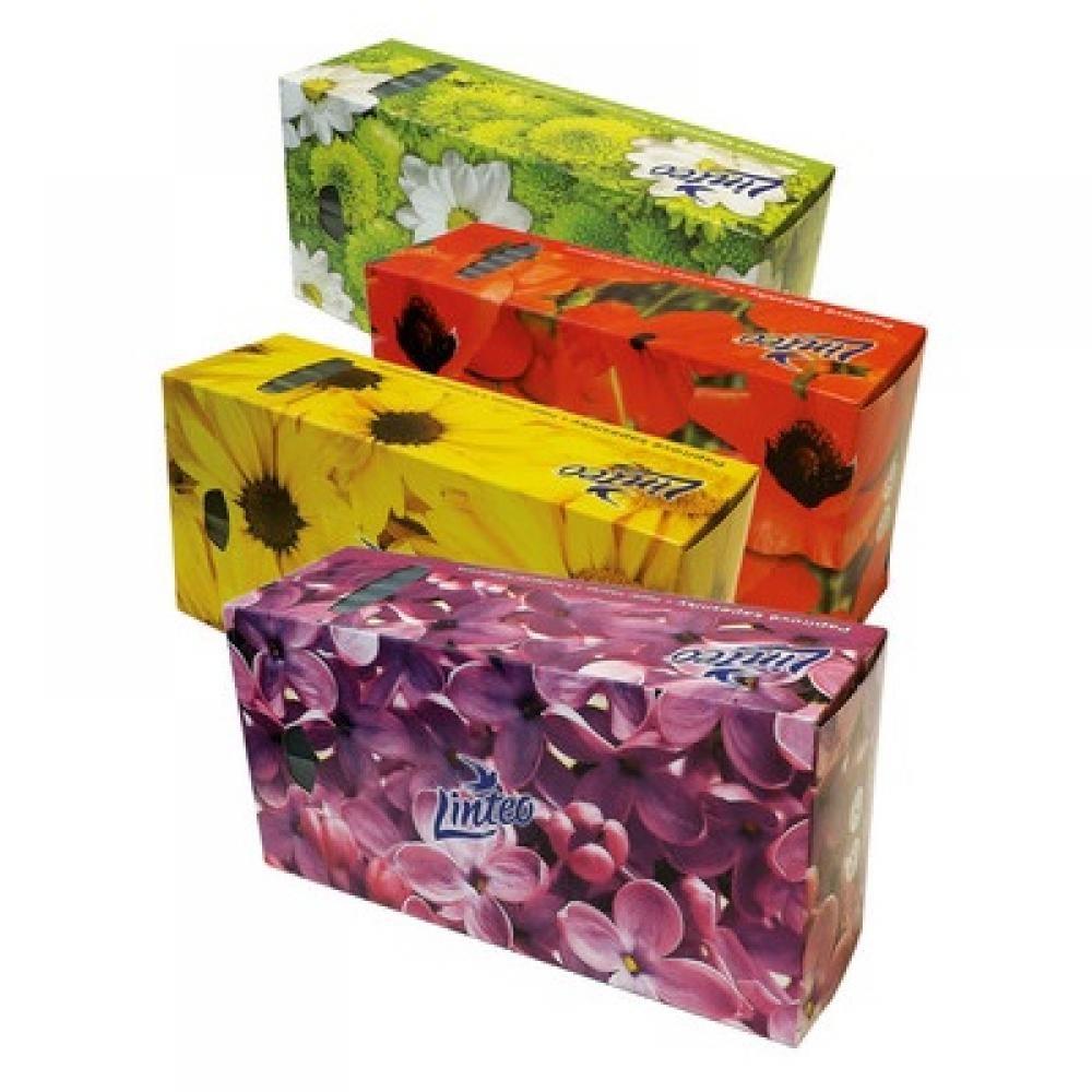 LINTEO Papírové kapesníky BOX 2-vrstvé 150 kusů