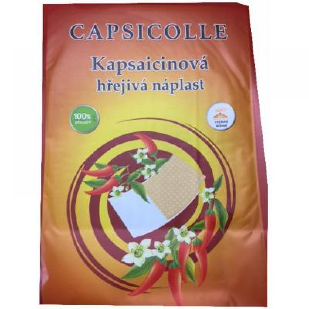 Kapsaicinová hřejivá náplast CAPSICOLLE 12x18 cm 50ks