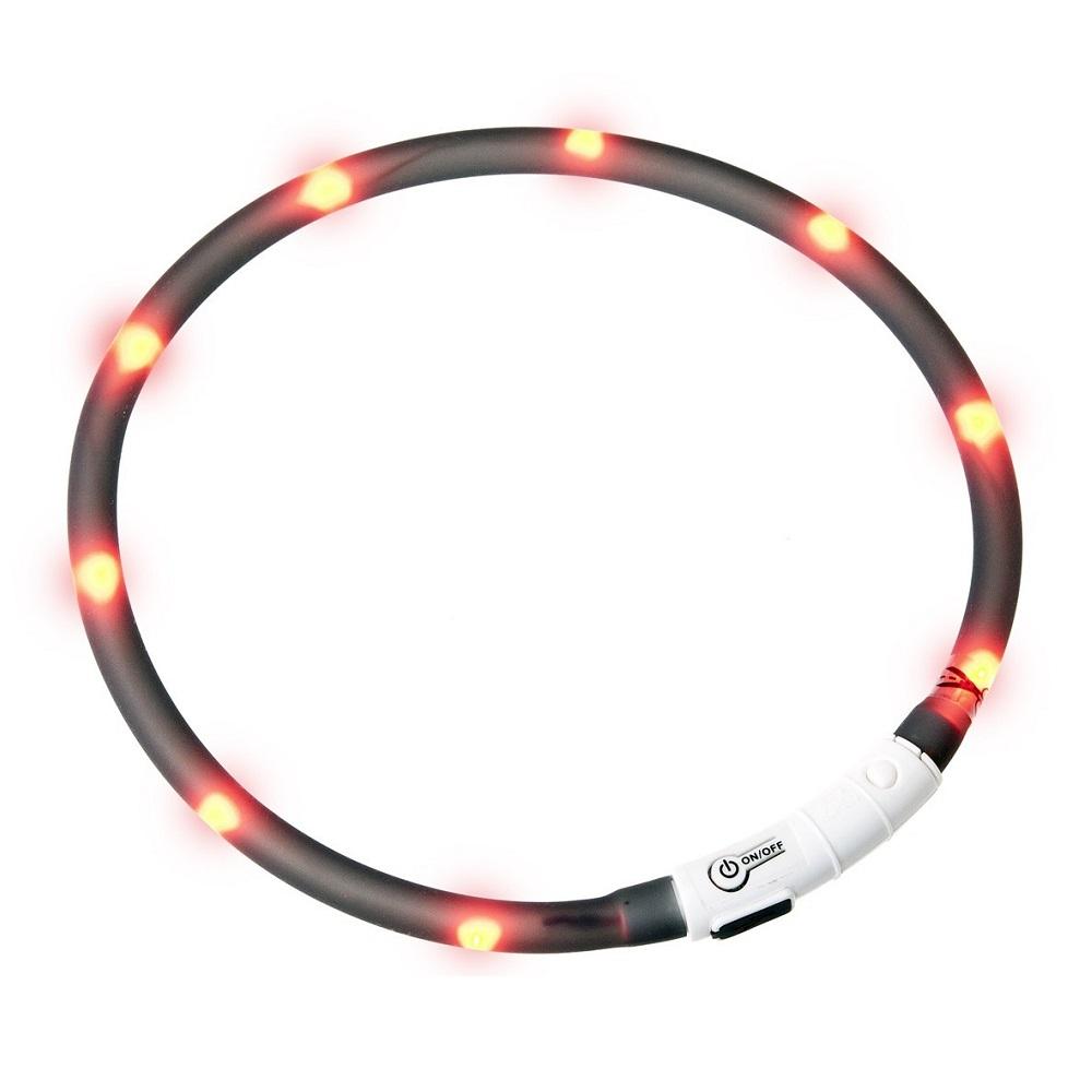 KARLIE FLAMINGO Obojek USB Visio Light 70 cm černý KAR