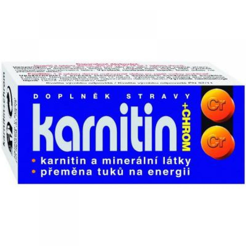 NATURVITA Karnitin + chrom 50 tablet