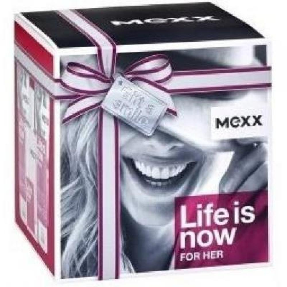Kazeta Mexx Life is Now Woman EDT 30 ml + 2 x tělové mléko 50ml