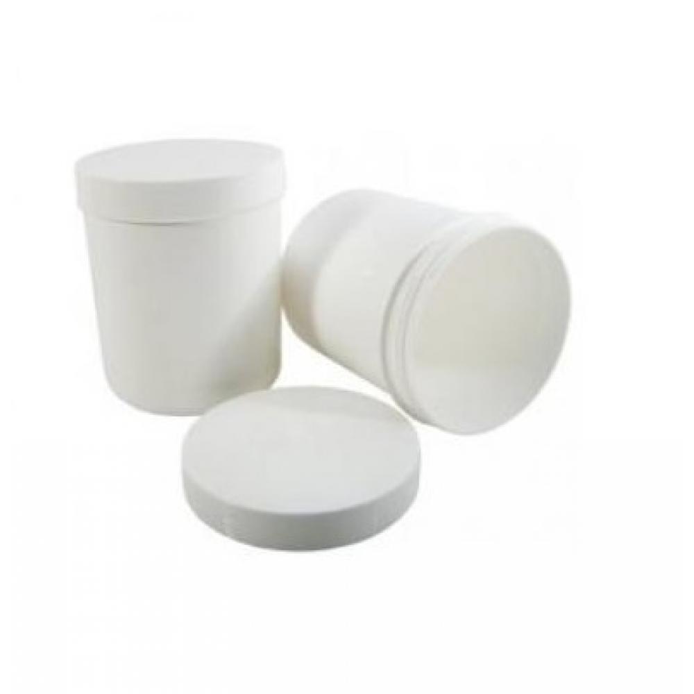 Kelímek se šroubovacím víčkem bílý 185ml/150g 20 kusů