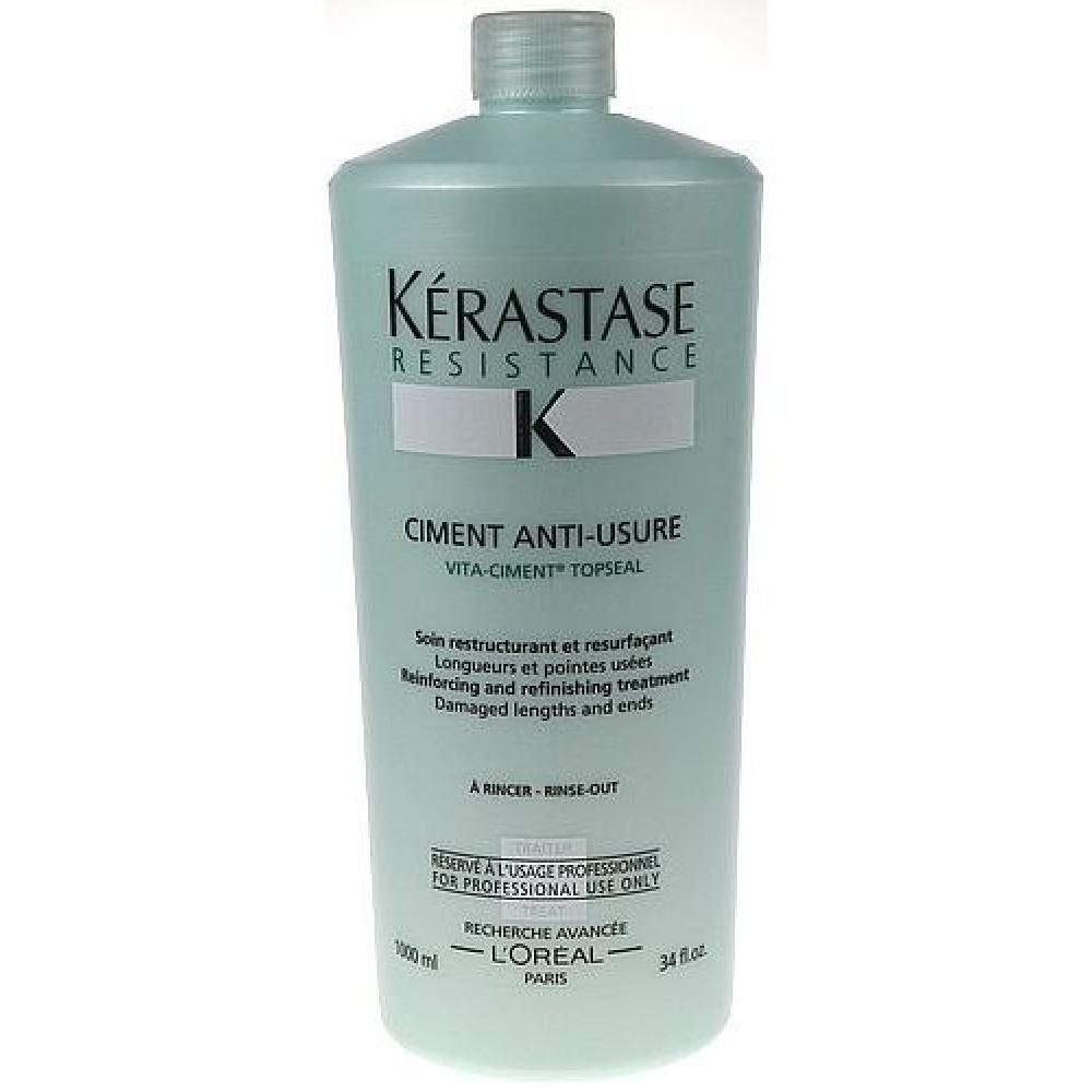 Kerastase Resistance Ciment Anti Usure 1000ml Pro oslabené vlasy a roztřepené konečky