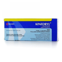 KINEDRYL 25mg/30mg 10 tablet