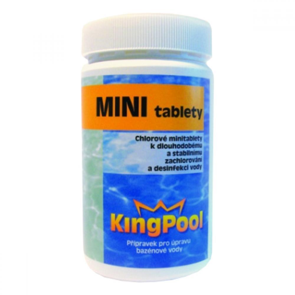 Kingpool chlorové mini tablety 1kg