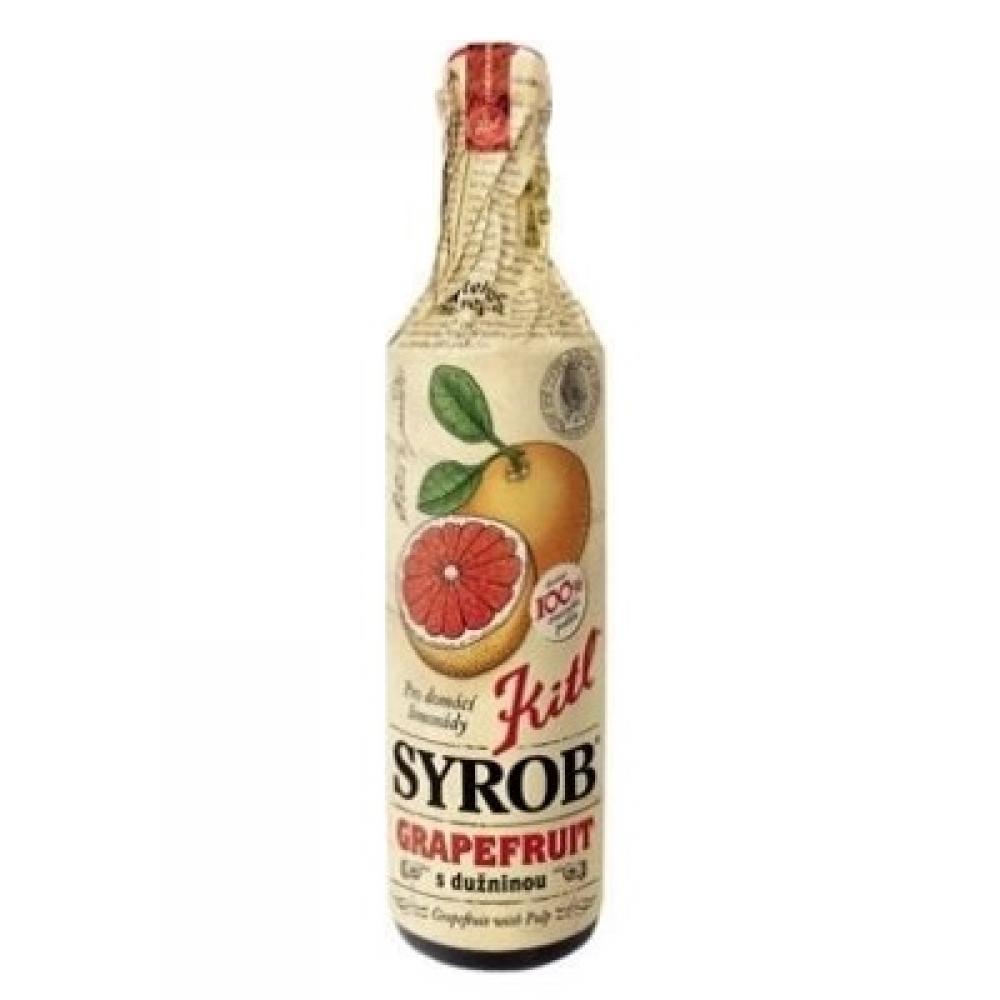 Kitl Syrob Grapefruit s dužinou 500ml - sirup pro přípravu domácích limonád