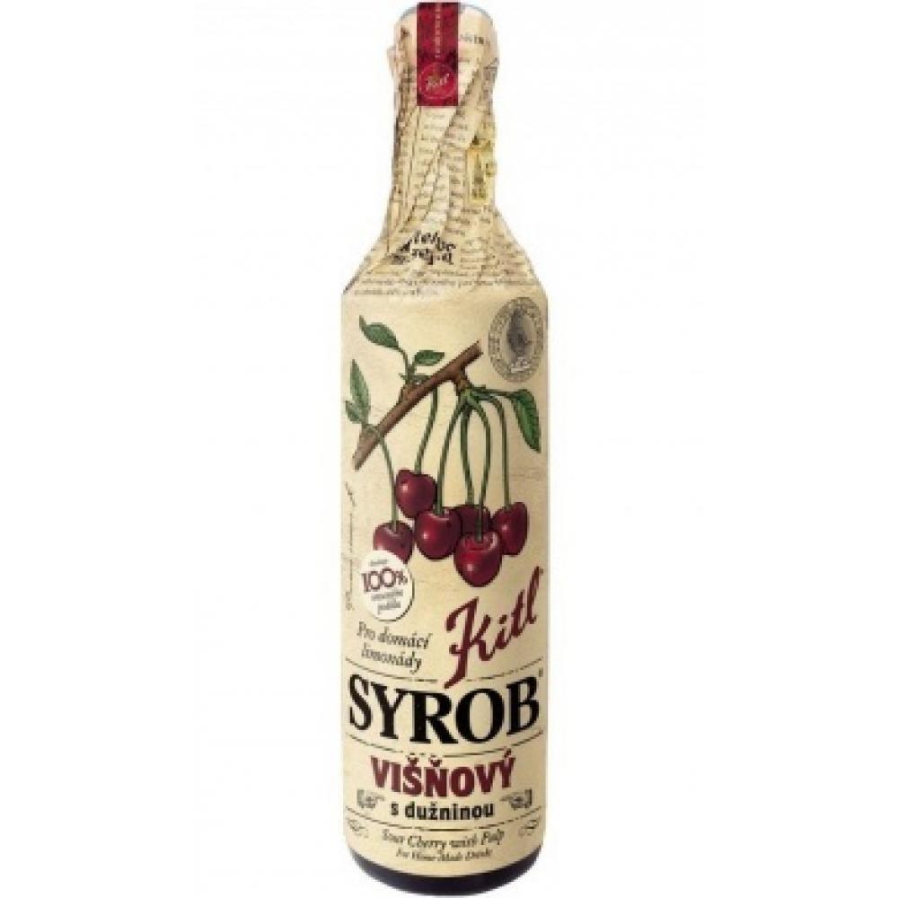 KITL Syrob Višňový s dužninou 500 ml