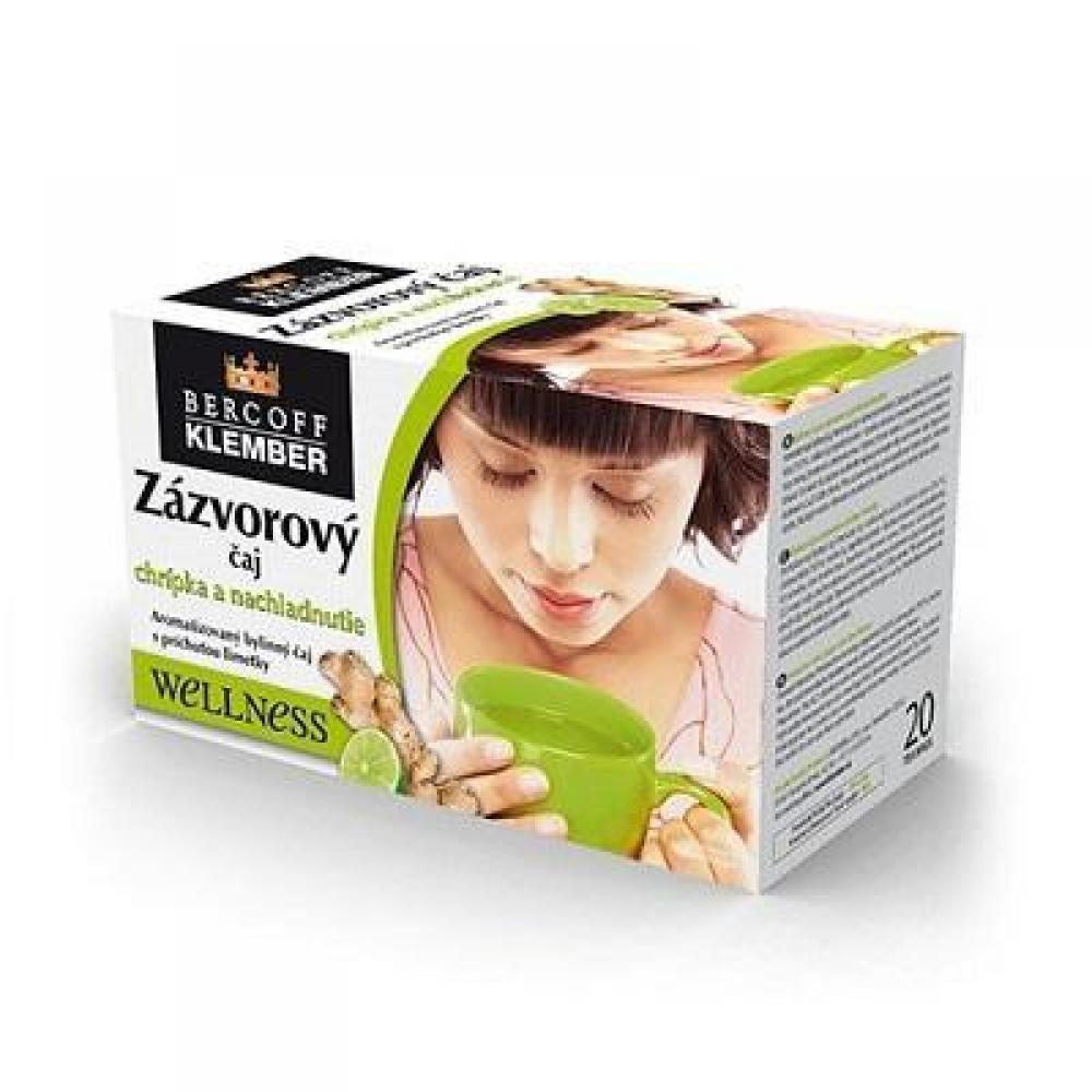 BERCOFF KLEMBER Čaj Zázvorový Limetka 20 sáčků
