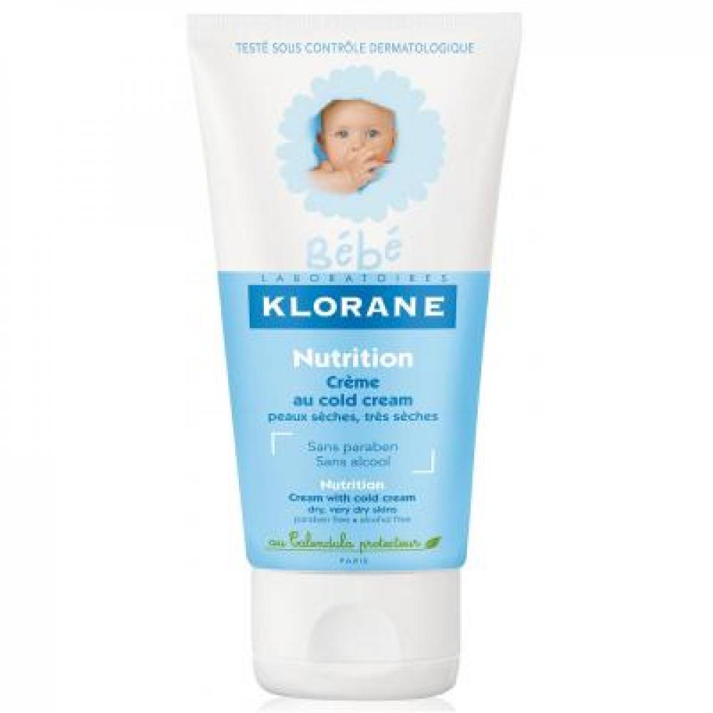 Klorane BEBE Výživný krém s Cold Cream 125 ml - LIMITOVANÁ EDICE