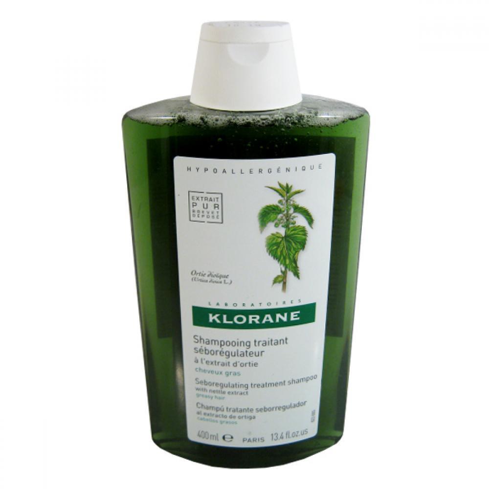 KLORANE Šampón Ortie 400ml - pro mastné vlasy
