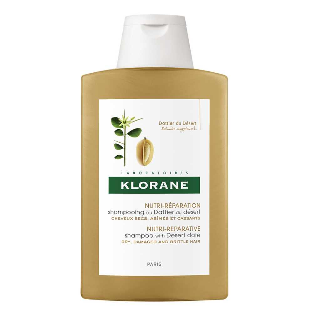 Klorane Dattier šampon s výtažkem z pouštních datlí 200 ml