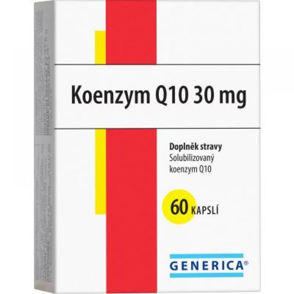 GENERICA Koenzym Q10 30 mg 60 kasplí