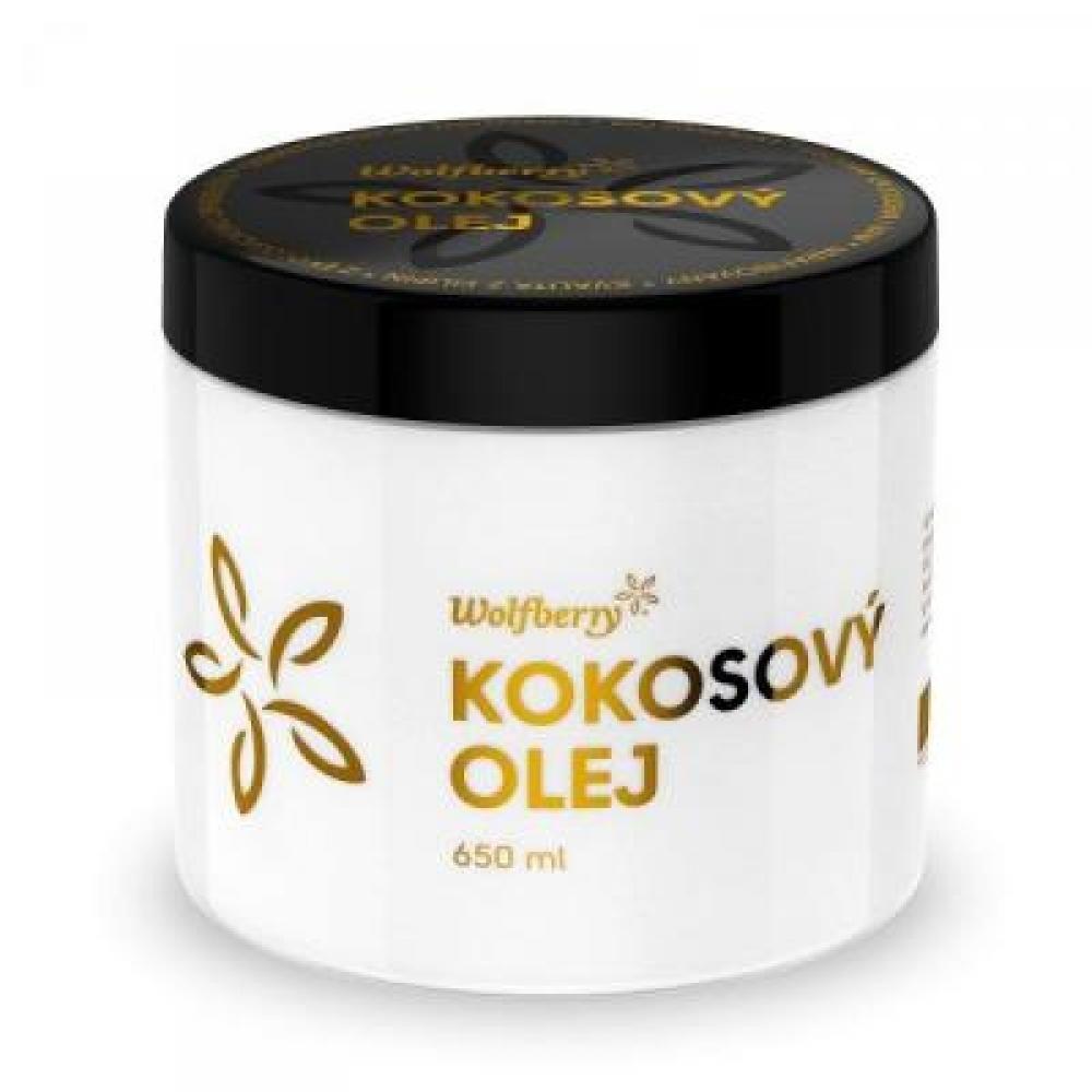 WOLBERRY Panenský kokosový olej BIO 650 ml