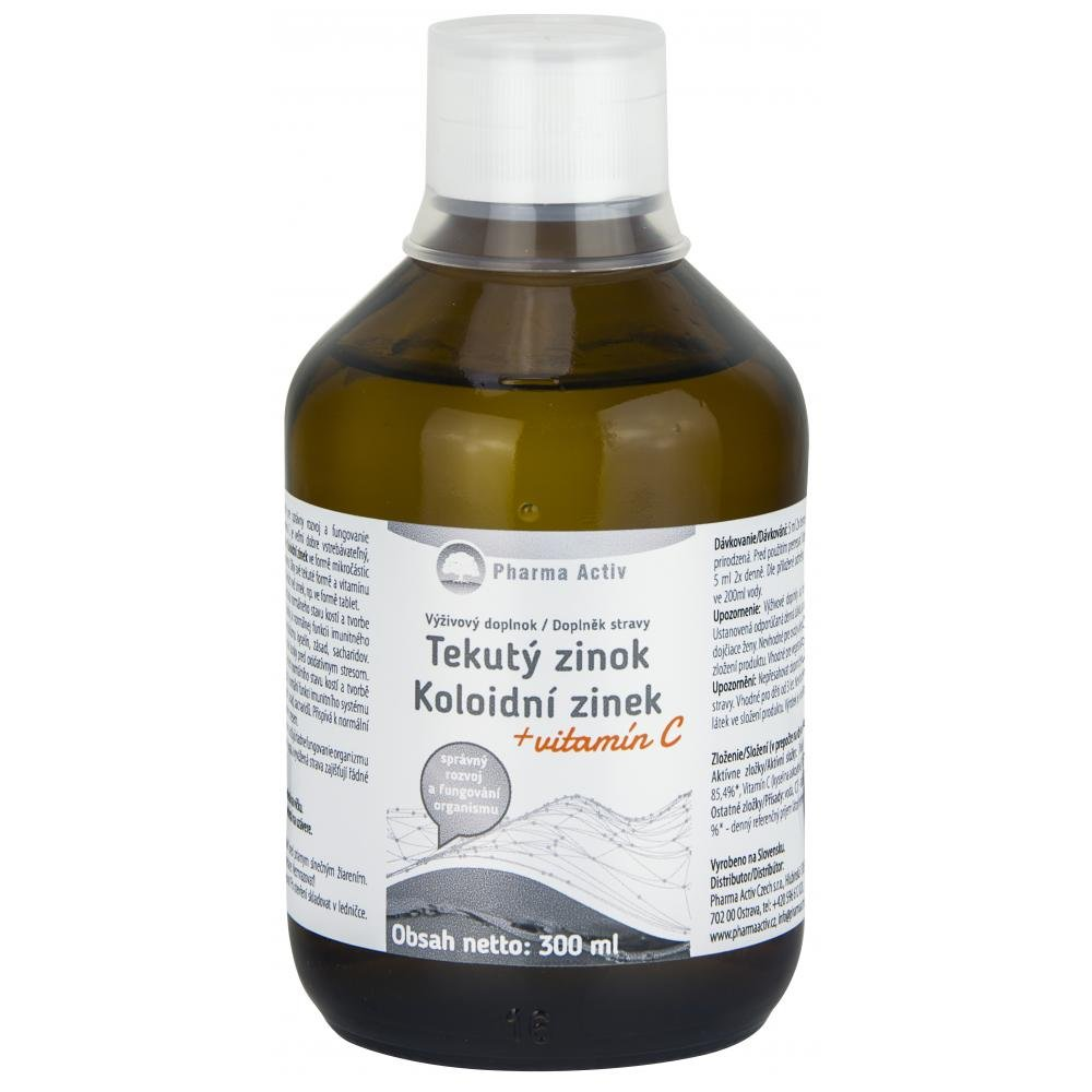 AURUM Koloidní zinek + vitamín C 300 ml
