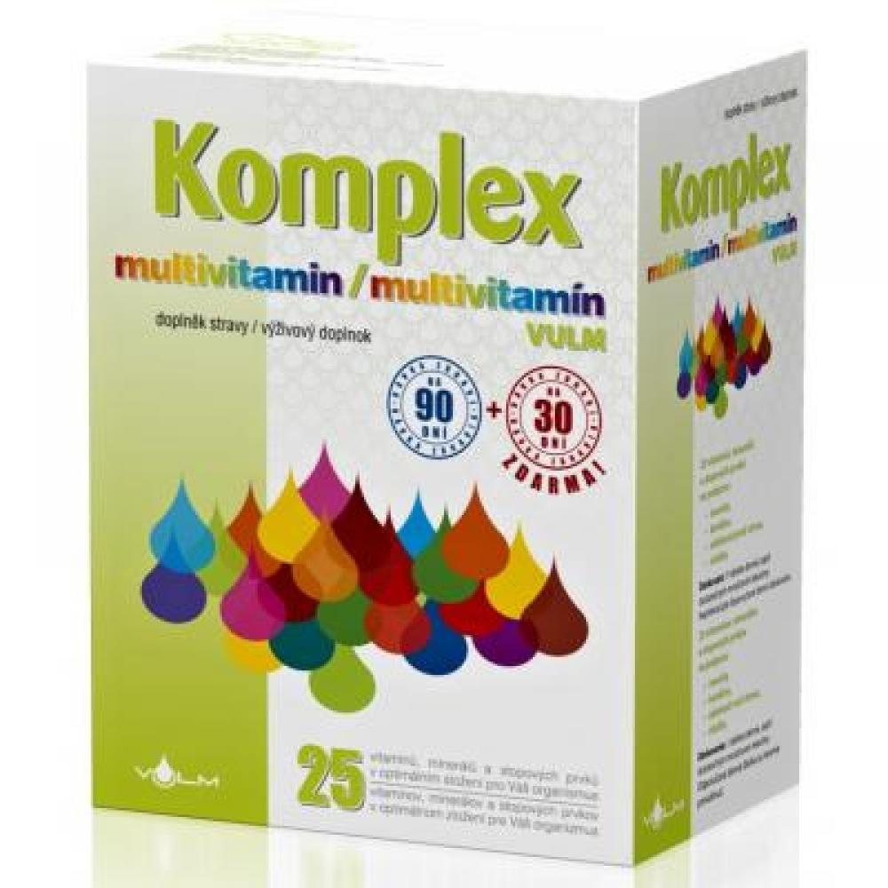 VULM Komplex Multivitamin 90 + 30 tablet
