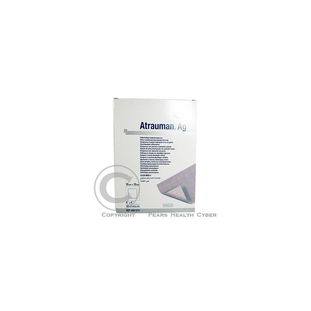 Kompres Atrauman AG sterilní 10 x 10 cm 10 ks poškozený obal