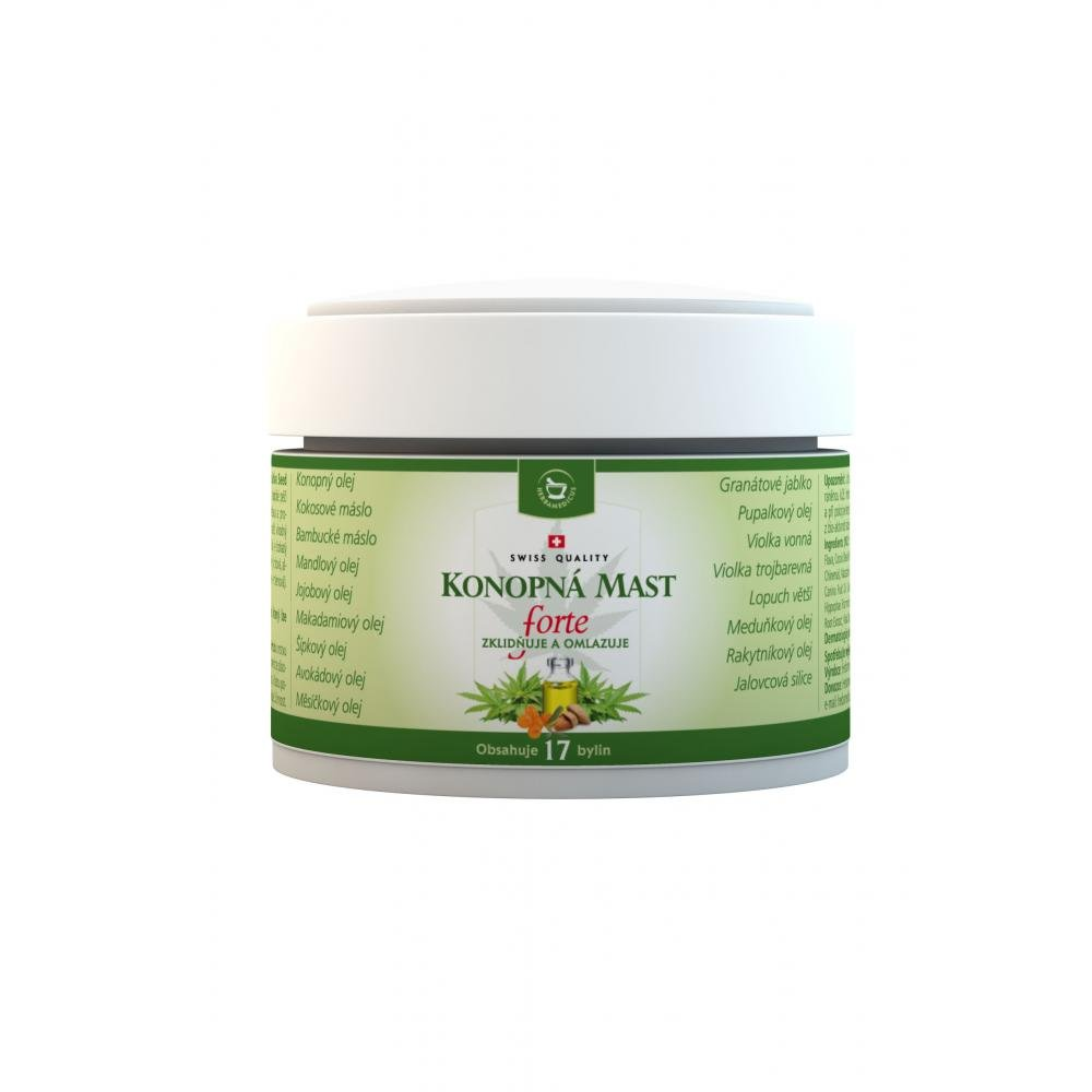 Herbamediscus Konopná mast 50 ml
