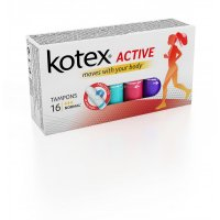 KOTEX Tampony Active Normal 16 ks