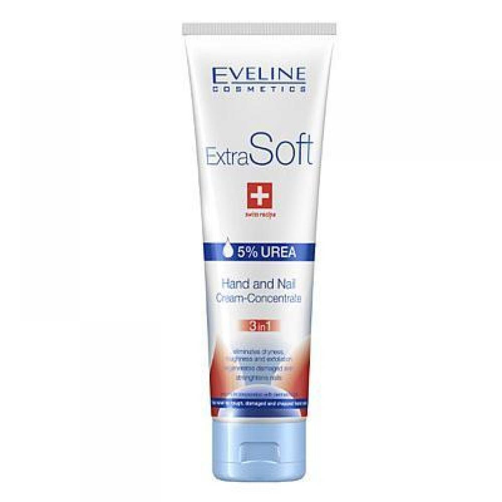 EVELINE Krém na ruce a nehty Extra Soft 3v1 100 ml