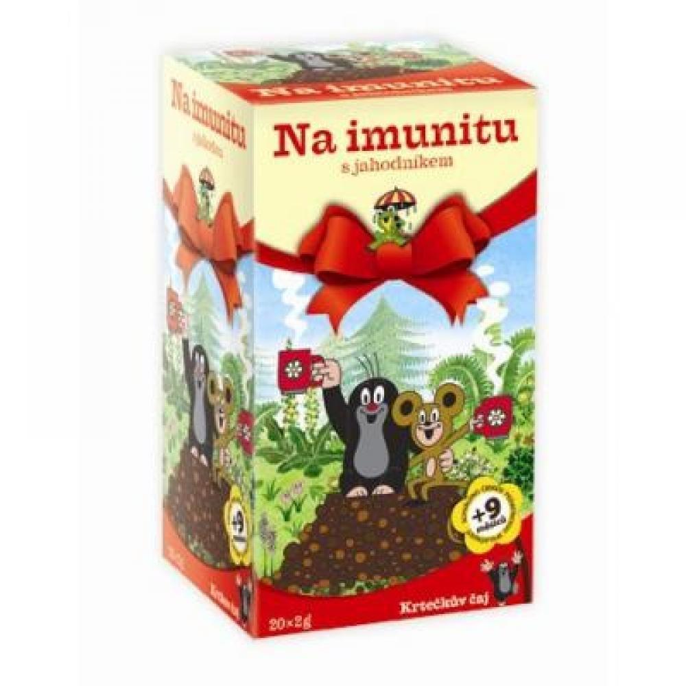 MEDIATE s.r.o. APOTHEKE Krtečkův čaj Na imunitu s jahodníkem 20x2g
