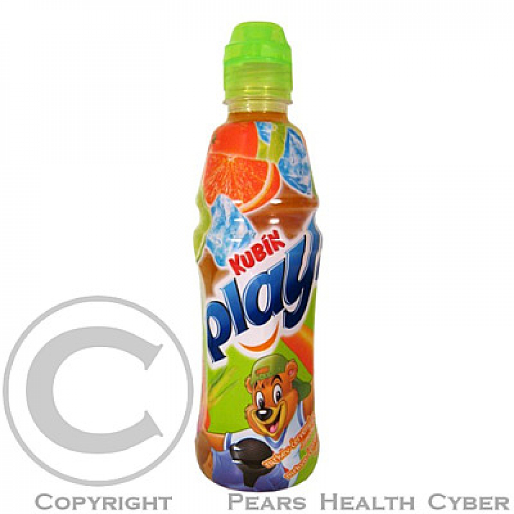 Kubík Play šťáva mrkev + pomeranč + limetka 0.4l