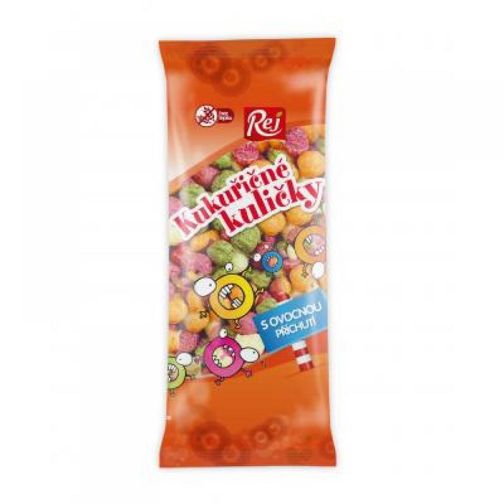 Pekkos Kukuřičné ovocné kuličky bezlepkové 45 g
