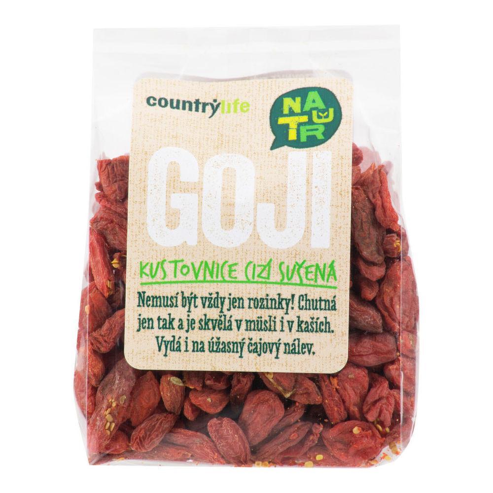COUNTRY LIFE Kustovnice cizí sušená Goji 250 g