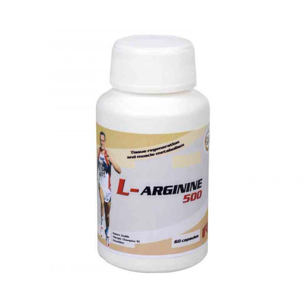 L-Arginine 500 60 kapslí