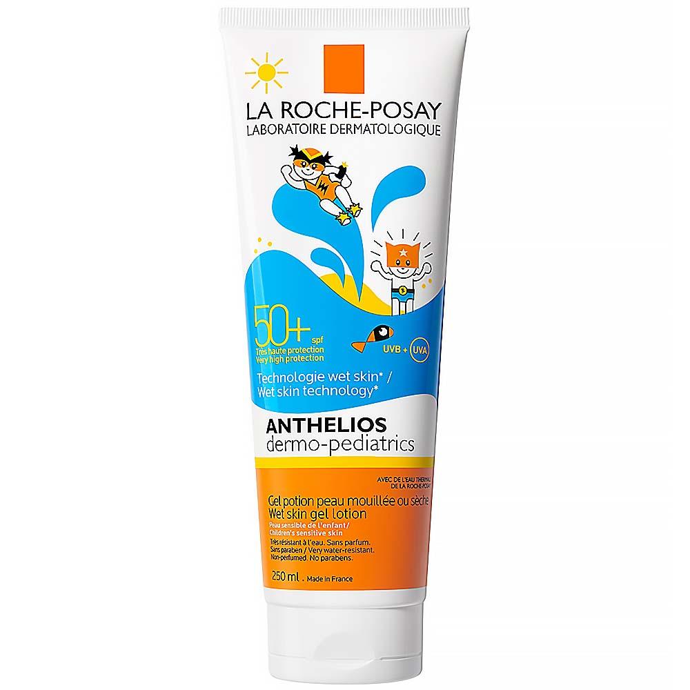 LA ROCHE-POSAY Anthelios mléko na opalování pro děti, gelové SPF 50+ 250 ml