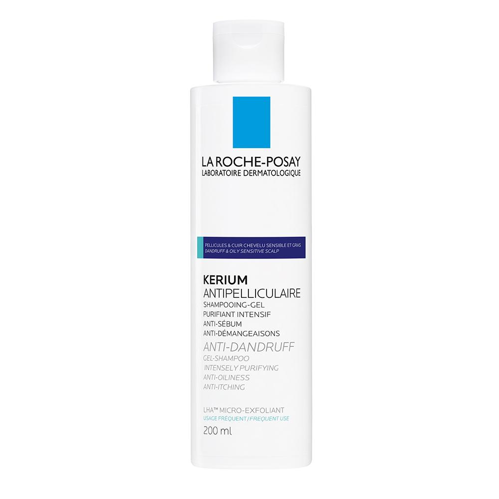 LA ROCHE Kerium - gelový šampon proti lupům 200 ml