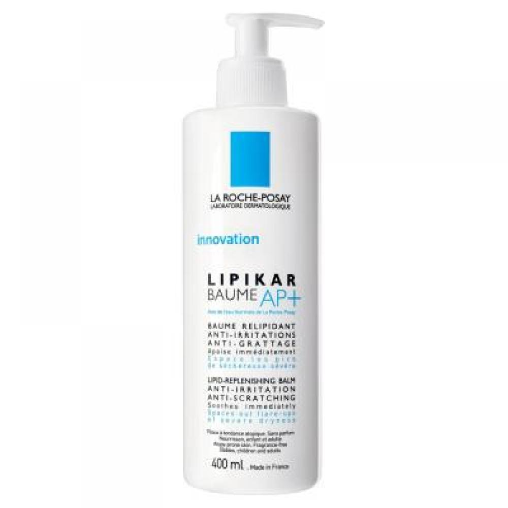 La Roche-Posay Lipikar Baume AP+ Relipidační balzám proti podráždění a svědění kůže 400 ml