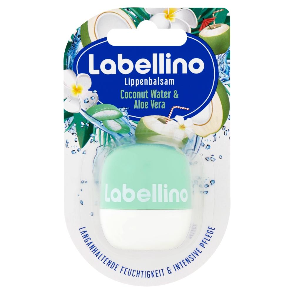 LABELLINO Coconut Water&Aloe Vera pečující balzám na rty 7 g