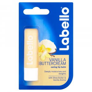 LABELLO Vanilla & Butter Cream Balzám na rty 4,8 g