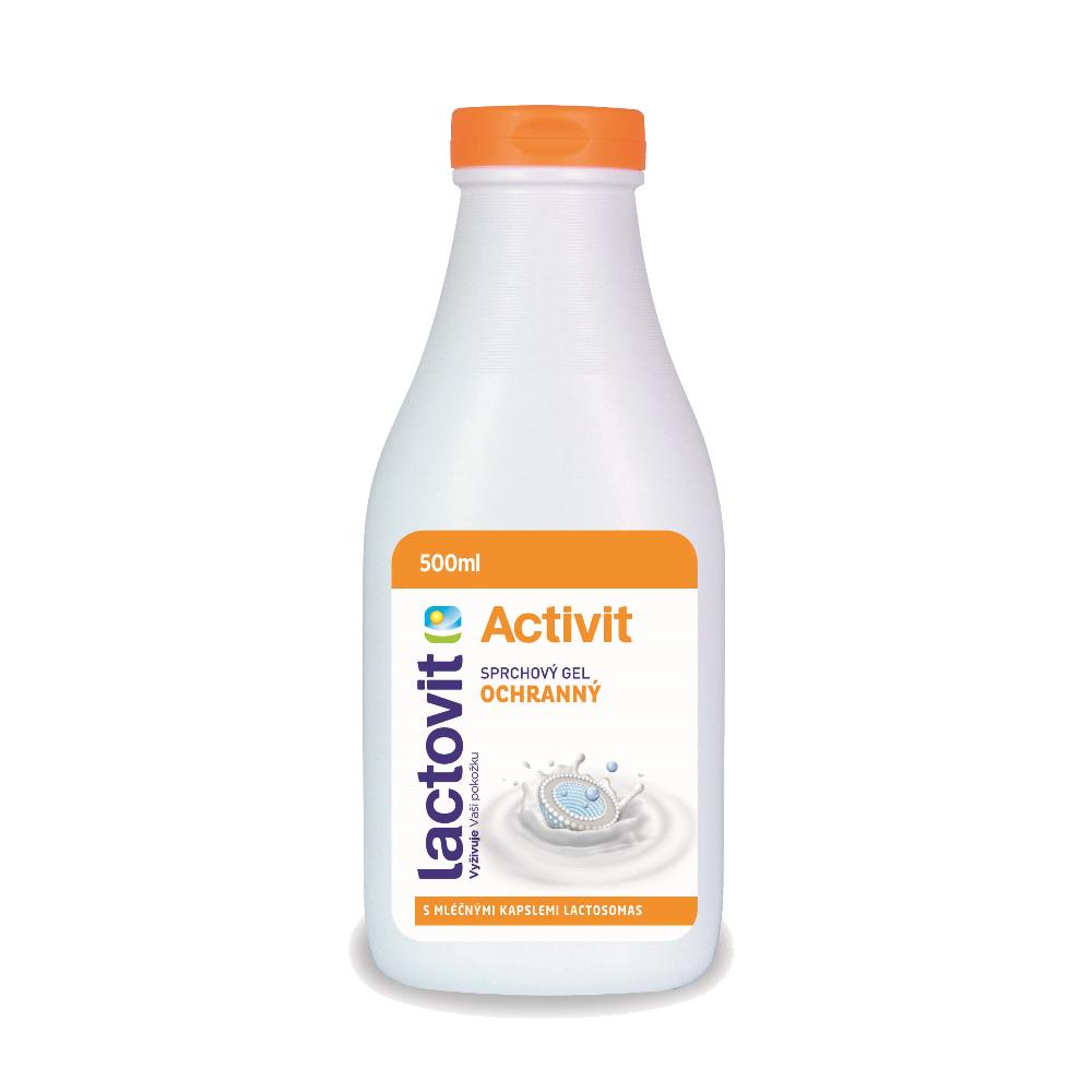 Lactovit sprchový gel 500ml Activit