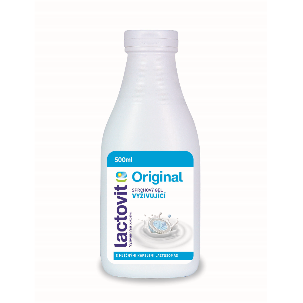 Lactovit sprchový gel 500ml Original