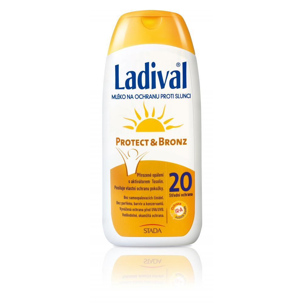 LADIVAL Protect a Bronz mléko 200 ml