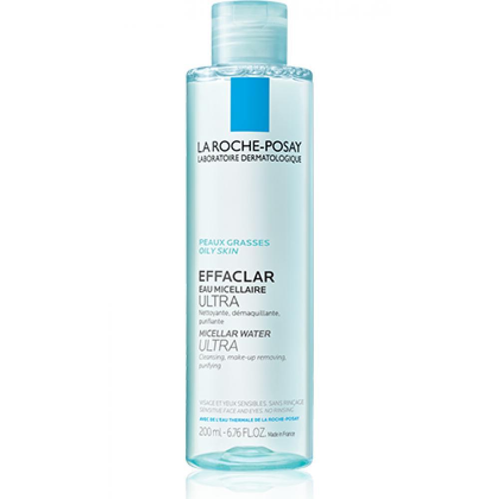 LA ROCHE-POSAY Effaclar čisticí micelární voda Ultra pro mastnou citlivou pleť 400ml