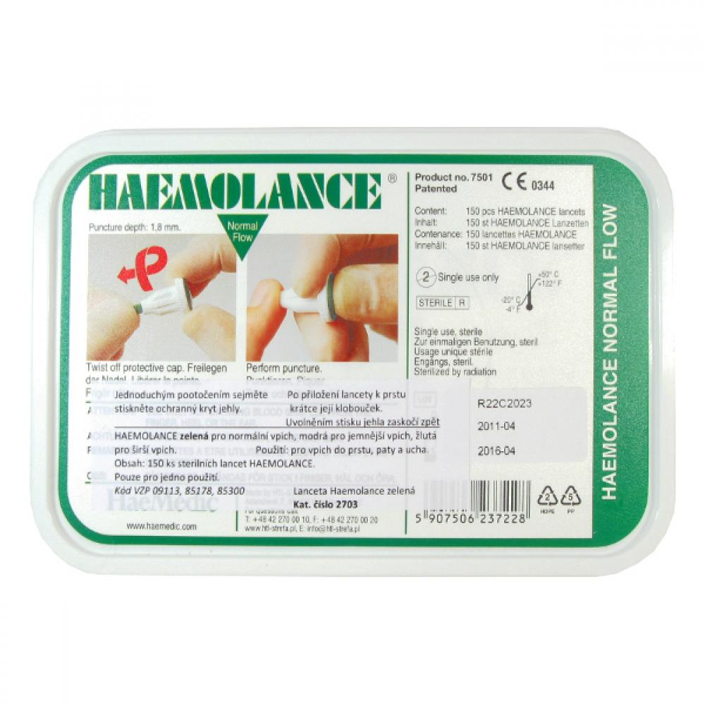 HAEMOFIX MEDICAL PRODUCTS AB Lancety Haemolance 2703