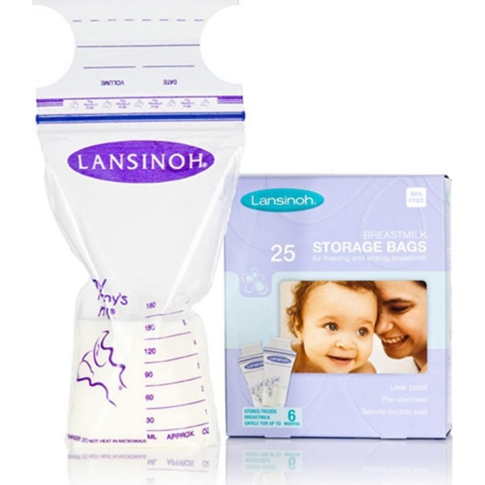 Lansinoh sáčky pro uskladnění mateřského mléka (25 ks)