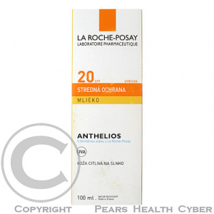 LA ROCHE Anthelios 20 lait 100 ml 17161202