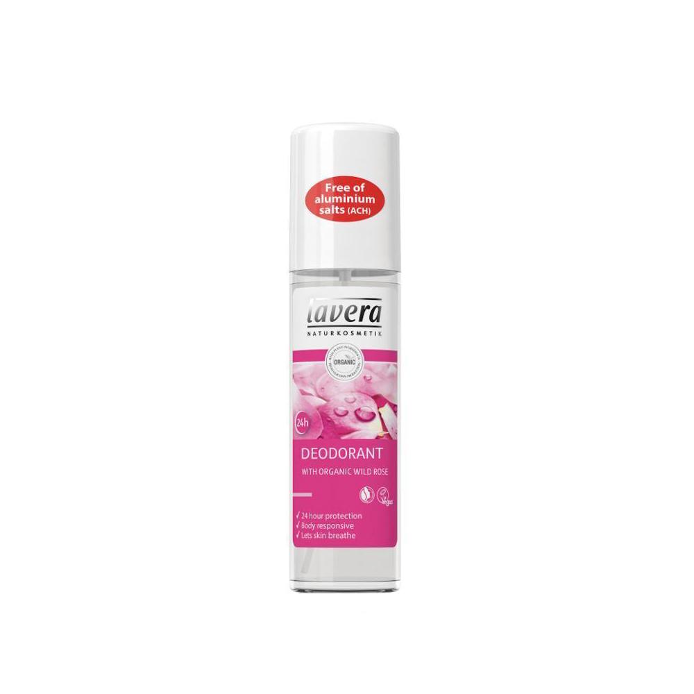 LAVERA Body Spa Svěží deo sprej BIO Divoká růže 75 ml