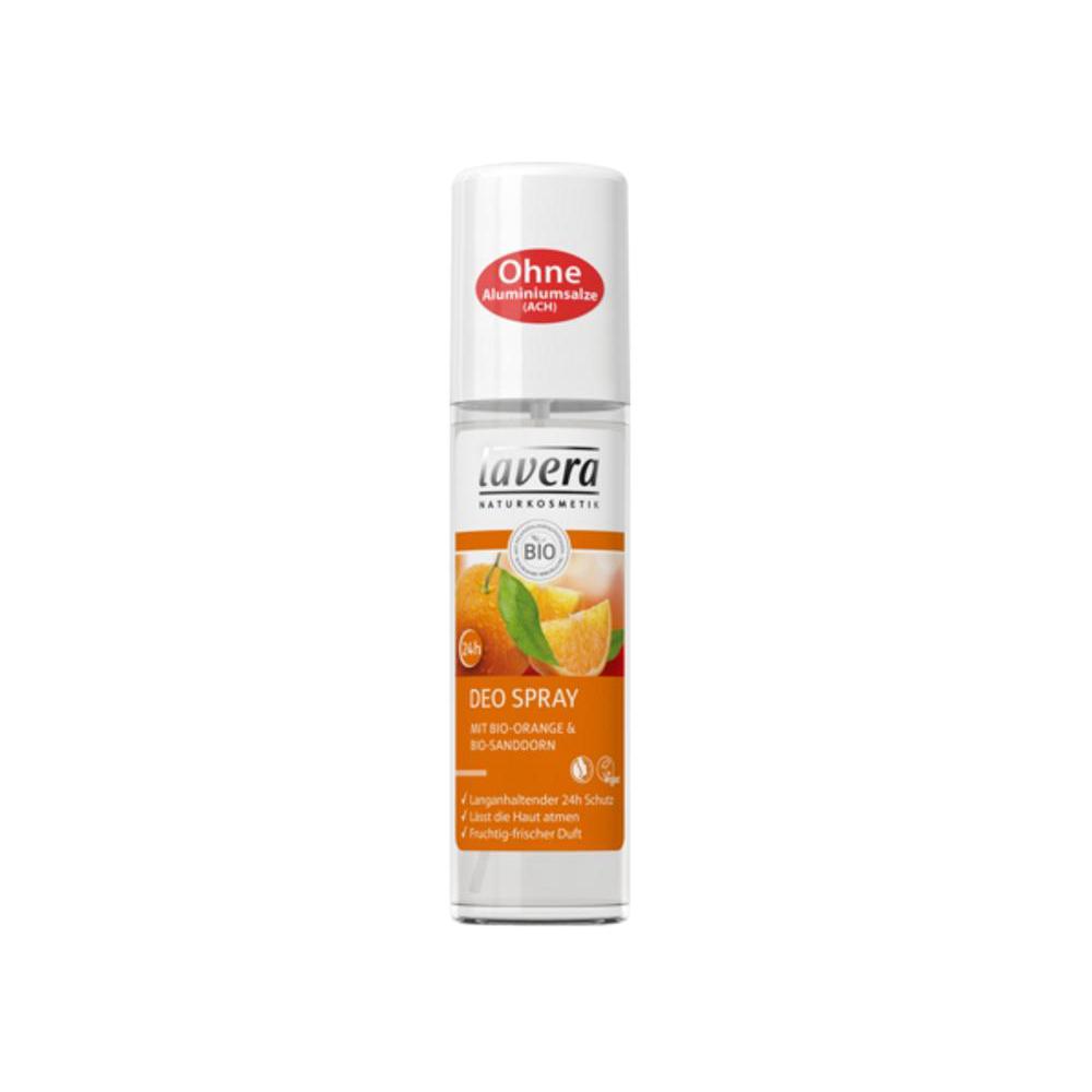 LAVERA Body Spa deodorant sprej pomeranč rakytník 75 ml