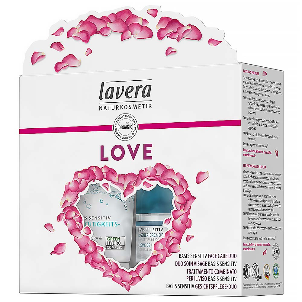LAVERA Basic Sensitiv Set plný lásky Dárkové balení
