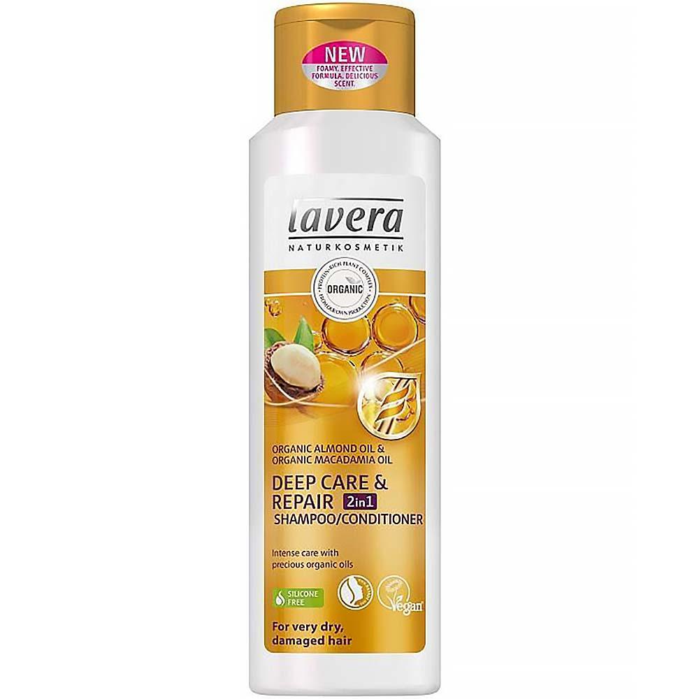 LAVERA Šampon a kondicionér 2v1 deep care & repair 250 ml